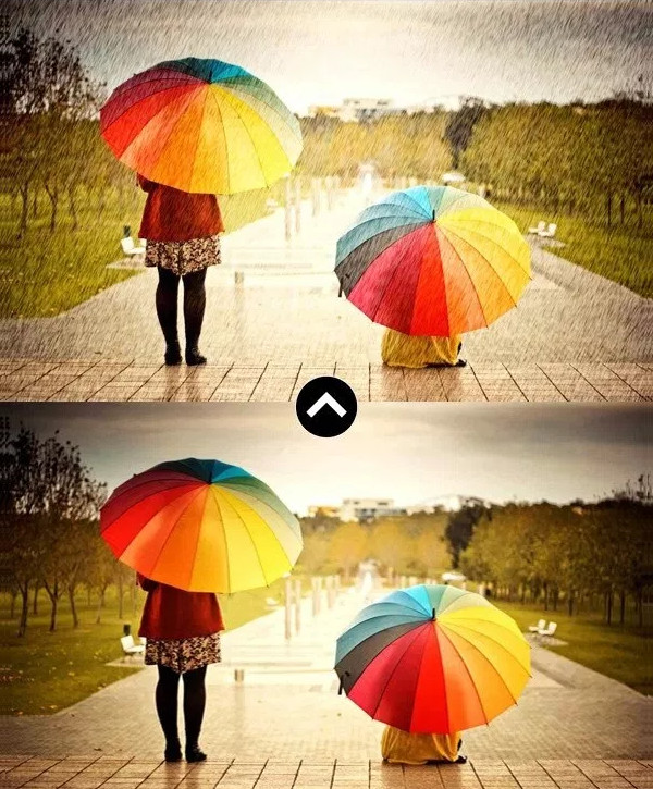 Rain Photoshop Action Effect Free Download