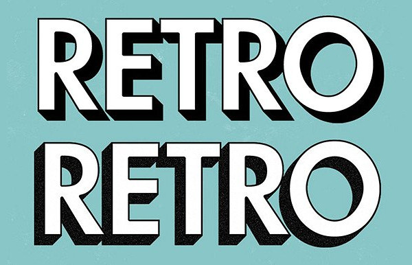 Retro Text Effect Actions