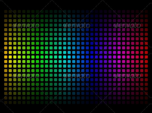 Spectrum Rainbow Colors Background