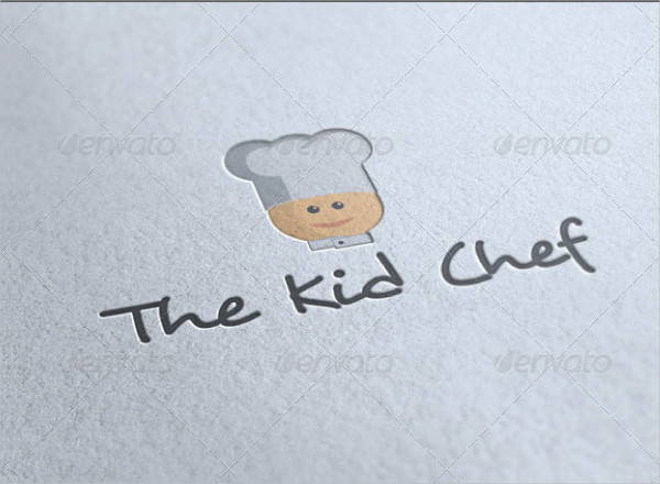 The Kid Chef Logo Template