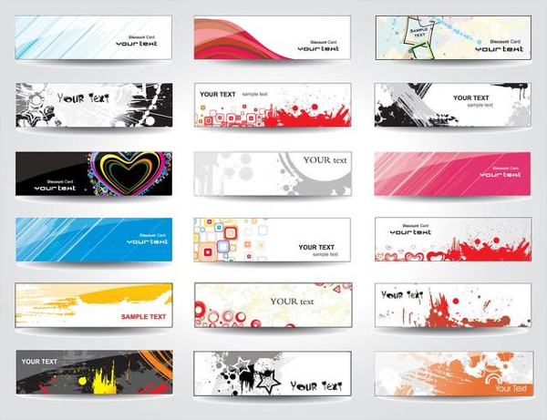 Vector Banners Design Free