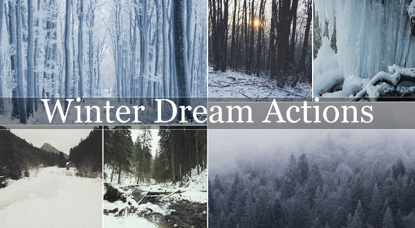 Winter Dream Photoshop Actions Pack