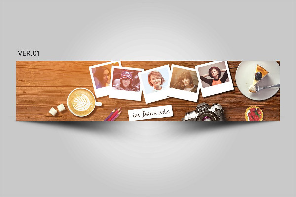 Youtube Blog Channel Art Banner Template