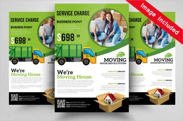 10 Cool Moving House Flyers