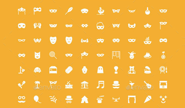 100+ Carnival Vector Icons