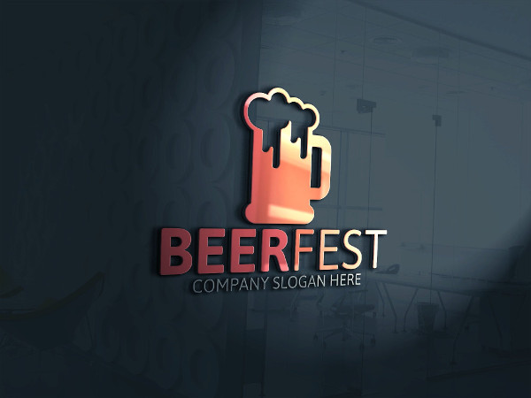 Beer Fest Logo Template