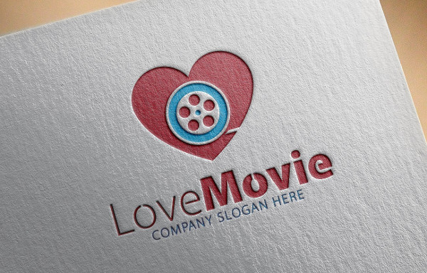 Branding Love Movie Logo Ideas
