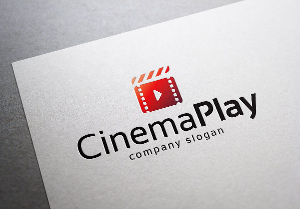Cinema Play Logo Design
