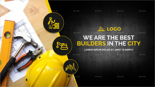 Construction Social Media Covers Package