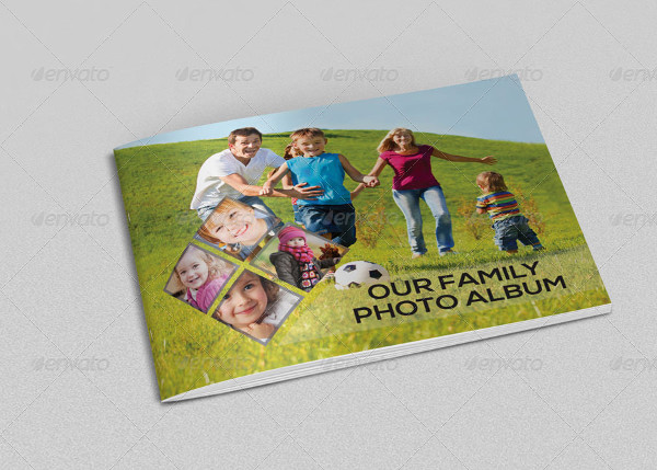 Family Digital Photo Album Template