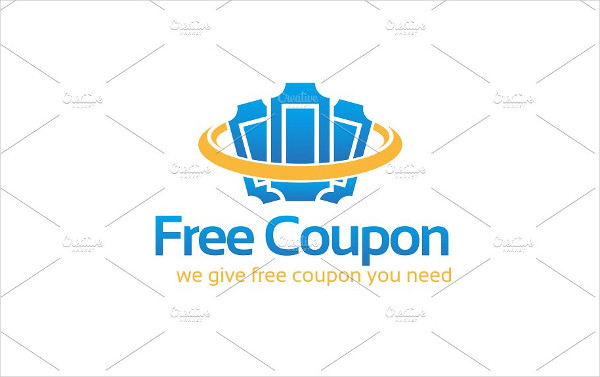Excellent Coupon Logo Template