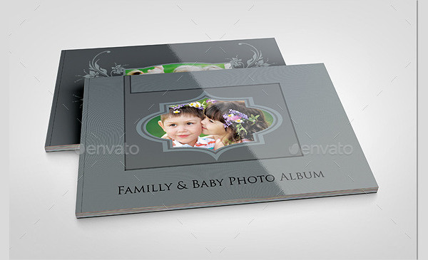 Landscape Family & Baby Photo Album