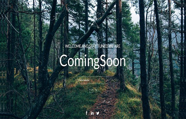 Freeland Coming Soon Page Template