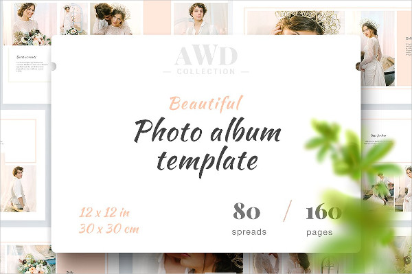 Fully Editable Family Photo Album Template