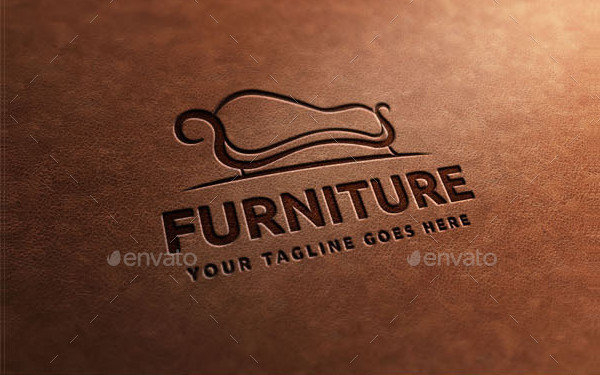 Cool Furniture Business Logo Template