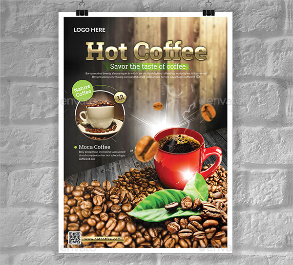 Hot Coffee Flyers Templates