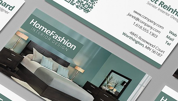Interior Designer Business Card Templates