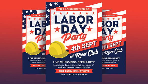 Labour Day Flyer Template  Design Templates