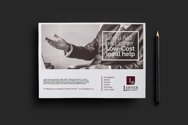 Legal Services Flyer Template