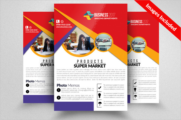 Lawyer Office Flyer Template