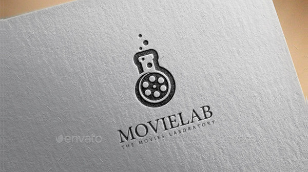 Printable Movie Lab Logo Template