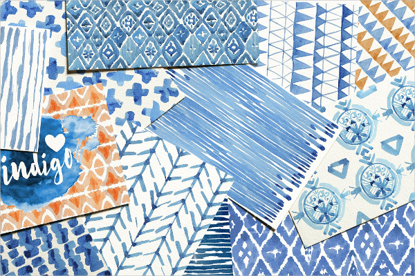 New Handy Watercolor Patterns Collection
