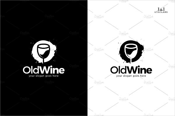 Old Wine Logo Template