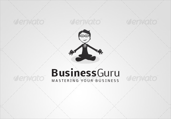 Perfect Business Guru Logo Template
