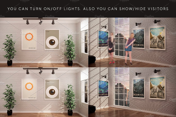 Perfect Gallery Mock-Up Design