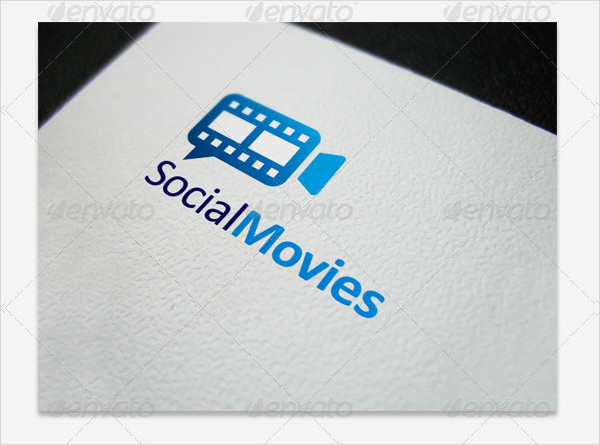 Social Movies Logo Template