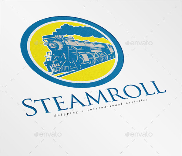 Steam Roll Shipping and Logistics Logo