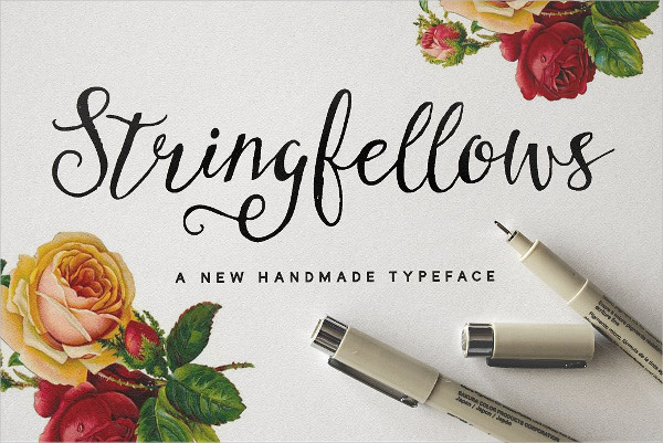 String Fellows Typeface Font