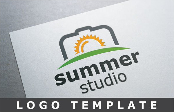 Summer Studio Logo Template