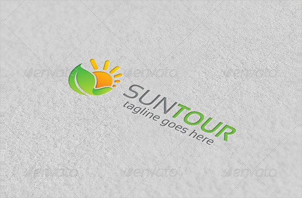 Sun & Nature Logo Template
