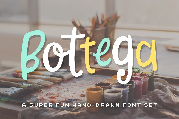 Unique Craft Fonts Set
