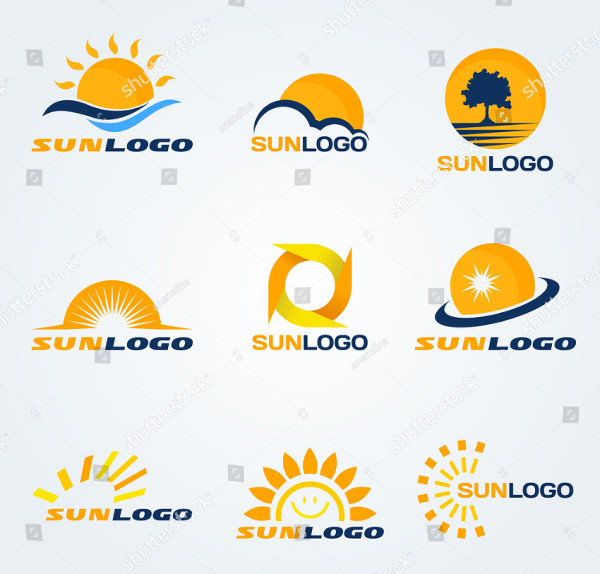 Vector Set of Sun Logos
