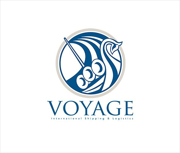 Voyage Shipping Business Logo Template