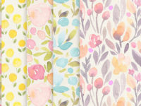 51+ Watercolor Patterns