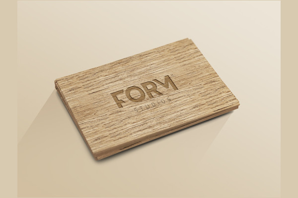 Wood Business Card Template Free