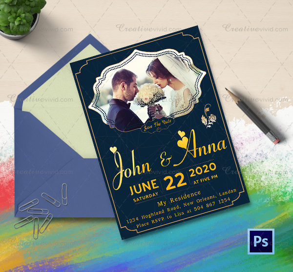 Engagement Announcements and Party Invitation