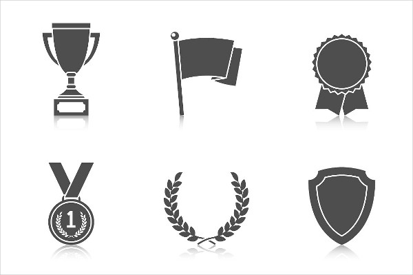 Appreciation Trophy and Awards Icons