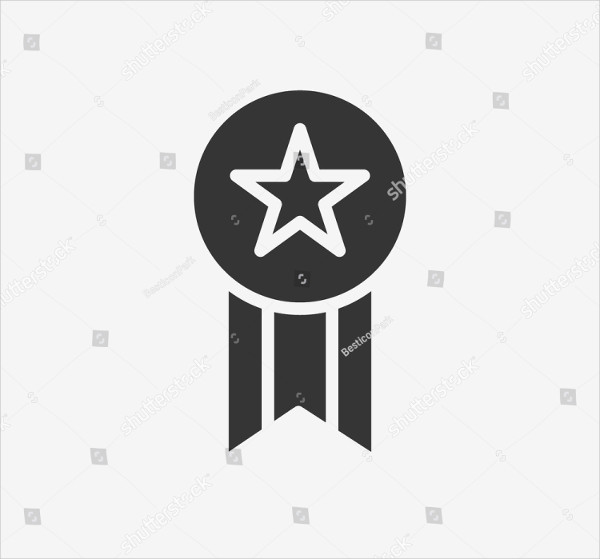 Award Icon Illustration Isolated Vector Sign Symbol
