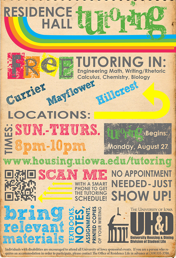 Tutor Advertising Flyer Template