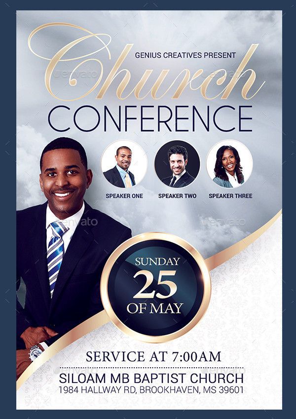 Church Event or Conference Flyer Template