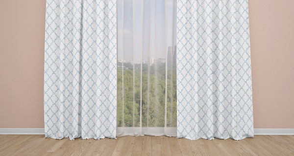 Realistic Curtains Mockup Templates Set