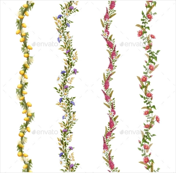 Floral Pattern Brushes for your Design