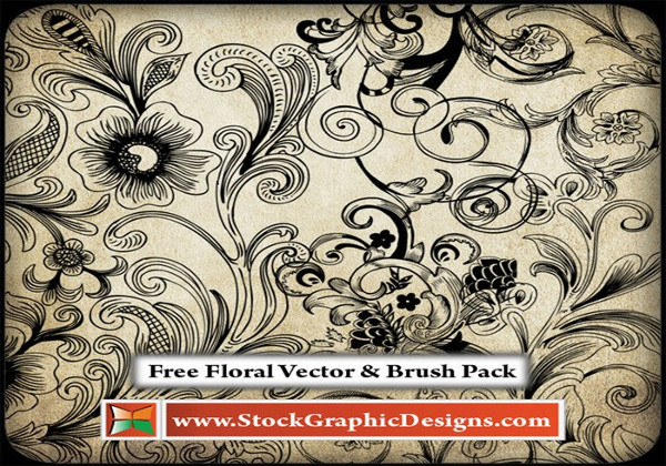 Floral Photoshop Brushes Free Download