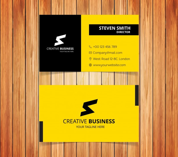 Free Business Card Typography