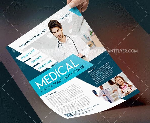 Free Medical Health Flyer Template PSD