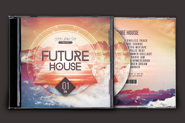 Future House CD Cover Artwork Design